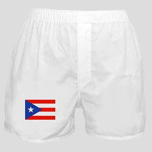 Boricua Puerto Rican Flag 4Quique Boxer Shorts