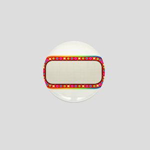 Multi Coloure Cinema Marquee Mini Button