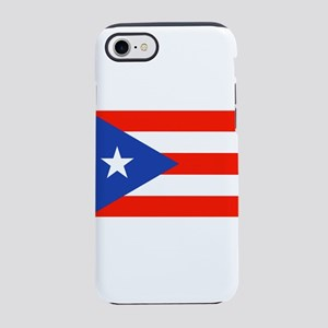 Boricua Puerto Rican Flag 4Q iPhone 8/7 Tough Case