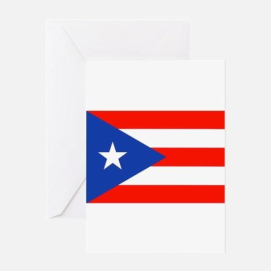 Boricua Puerto Rican Flag 4Quique Greeting Cards