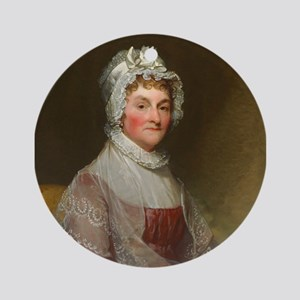 Abigail Smith Adams by Gilbert Stua Round Ornament