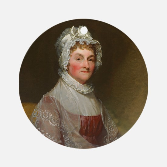 Abigail Smith Adams by Gilbert Stua Round Ornament