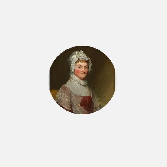 Abigail Smith Adams by Gilbert Stuart Mini Button