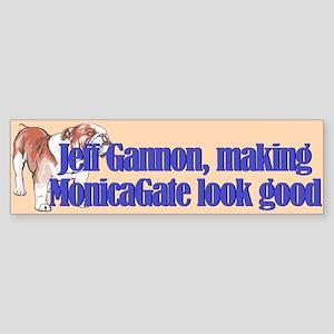 Monicagate looks good Bumper Sticker