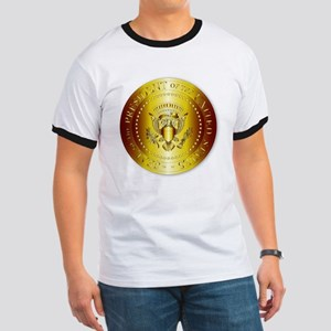 Presedent Seal In Gold T-Shirt