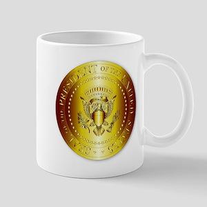 Presedent Seal In Gold Mugs