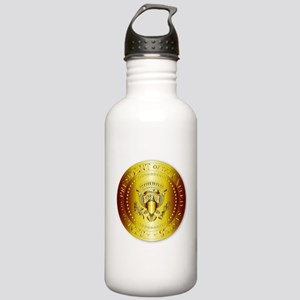 Presedent Seal In Gold Stainless Water Bottle 1.0L