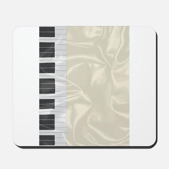 Silk Piano Keys Mousepad