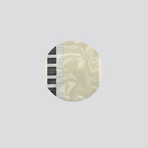 Silk Piano Keys Mini Button