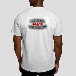 Boxing New York Style Ash Grey T-Shirt