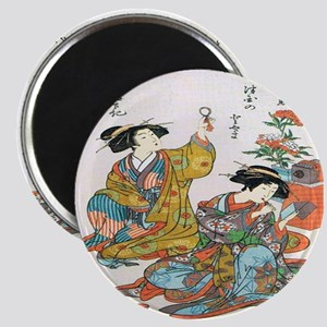 Classical Ancient Japanese Se Magnet