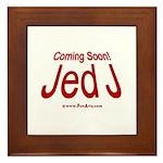 Coming Soon! Jed J Framed Tile