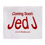 Coming Soon! Jed J Throw Blanket