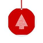 Arrow Tree Red Ornament (Round)
