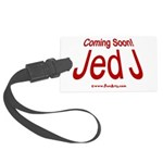 Coming Soon! Jed J Large Luggage Tag