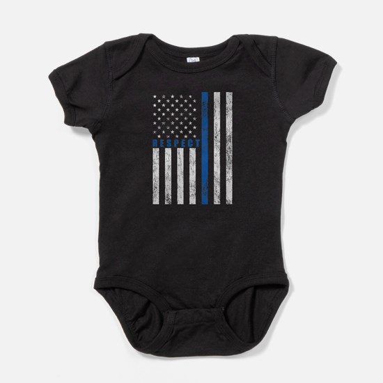 Respect Policemen Baby Bodysuit