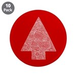 """Arrow Tree Red 3.5"""" Button (10 pack)"""