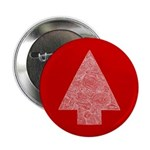 """Arrow Tree Red 2.25"""" Button"""