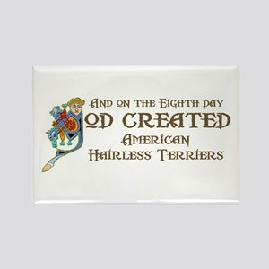 God Created AHTs Rectangle Magnet