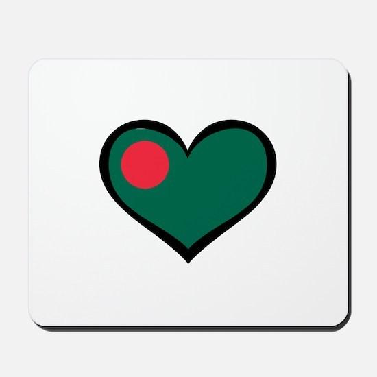 Bangladesh Love Mousepad