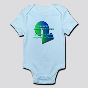Two is oddest prime Infant Bodysuit