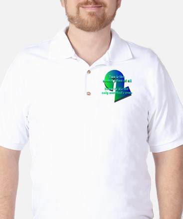 Two is oddest prime Golf Shirt