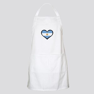 Argentina Love BBQ Apron