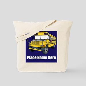 School Bus Tote Bag