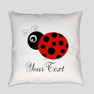 Red and Black Personalizable Ladybug Everyday Pill