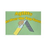 Over the Top Agility Rectangle Magnet (10 pack)