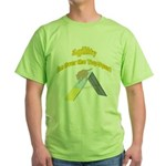 Over the Top Agility Green T-Shirt