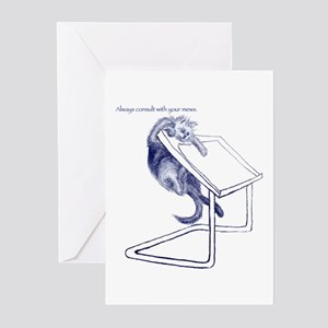 Consult Your Muse Greeting Cards (Pk of 10)