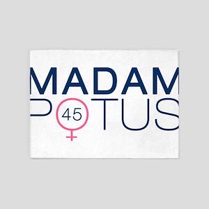 Madam POTUS 45th President 5'x7'Area Rug