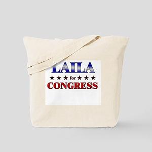 LAILA for congress Tote Bag