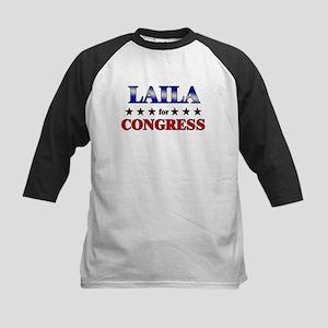LAILA for congress Kids Baseball Jersey