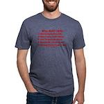 Smarter OS needs Mens Tri-blend T-Shirt