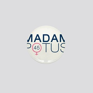 Madam POTUS 45th President Mini Button