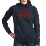 Smarter OS needs Women's Hooded Sweatshirt