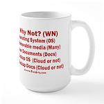 Smarter OS needs 15 oz Ceramic Large Mug