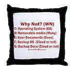 Smarter OS needs Throw Pillow