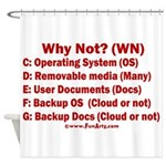 Smarter OS needs Shower Curtain