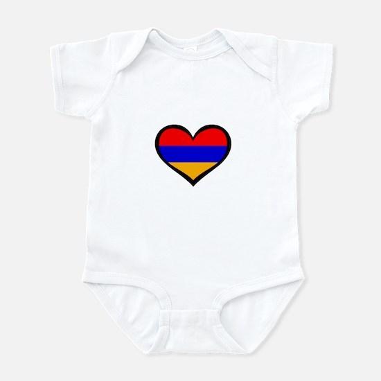 Armenia Love Infant Bodysuit