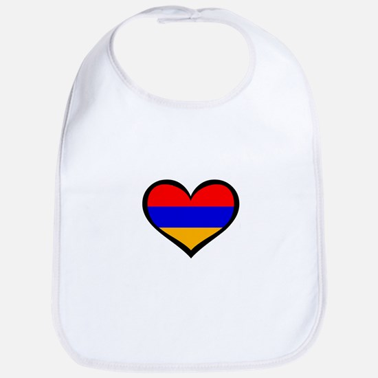 Armenia Love Bib
