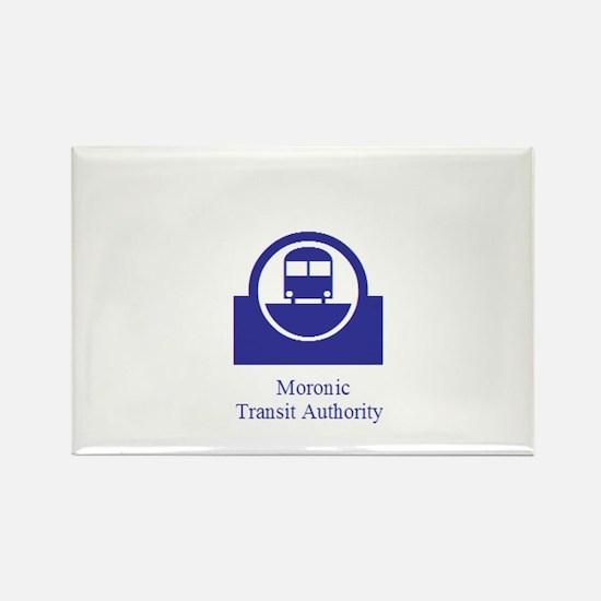 Moronic MTA Rectangle Magnet