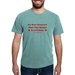 No Live Music Filter Mens Comfort Colors Shirt