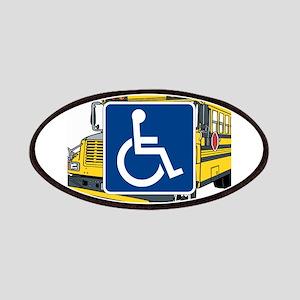 Handicapped School Bus Patch