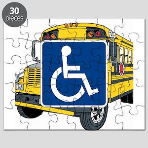 Handicapped School Bus Puzzle