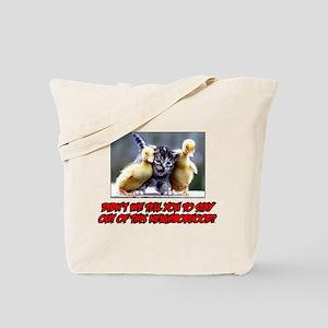 BABY DUCK MAFIA Tote Bag
