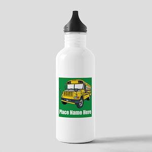 School Bus Water Bottle