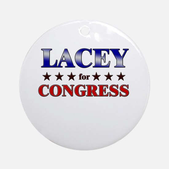 LACEY for congress Ornament (Round)